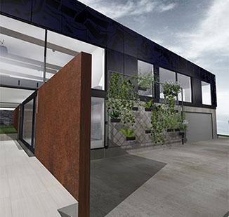 Rush house project rotherham address